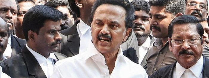 DMK in third place in LS