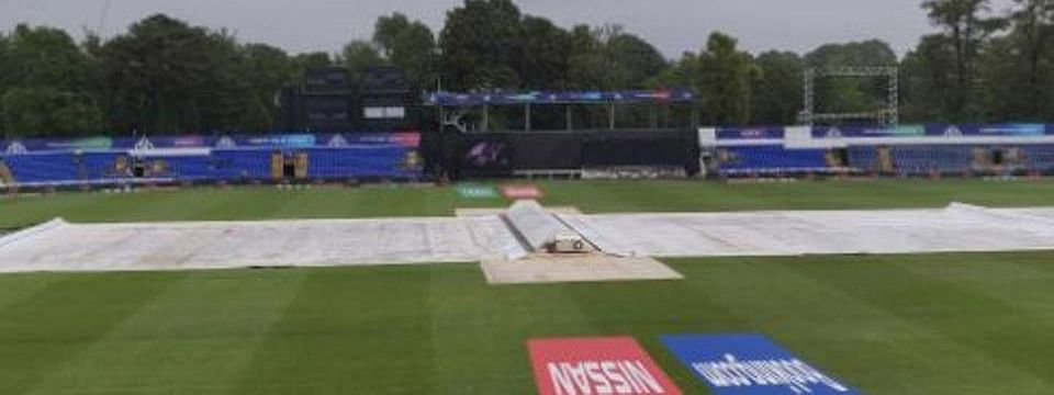 West Indies-SA match halted due to rain
