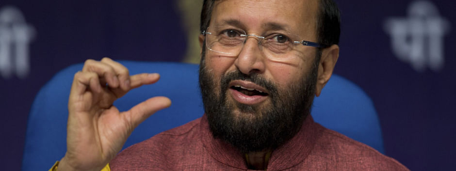Javadekar takes charge as environment minister