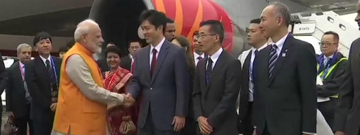 PM leaves for Japan to attend G 20 Summit