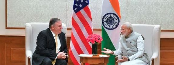 Pompeo meets PM Modi, also holds parleys with NSA Ajit Doval