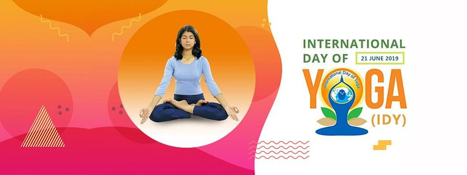 Let's get going this Yoga Day!