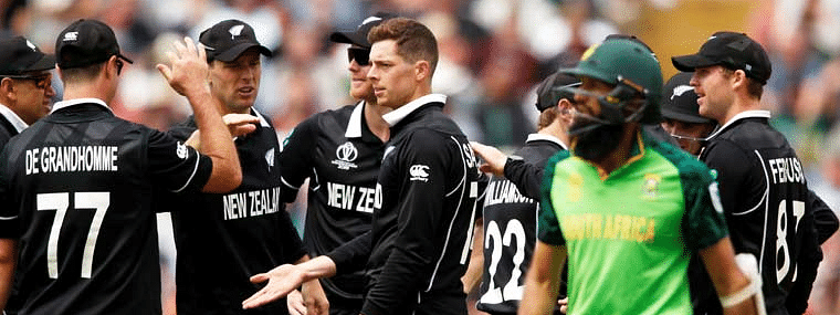 Proteas put up competitive total of 241/6 against New Zealand