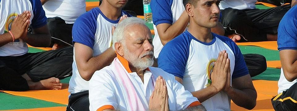 Modi to perform yoga with people in Ranchi