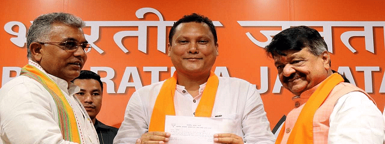 More Trinamool Congress leaders in West Bengal join BJP