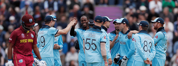 England hammer West Indies by 8 wickets in the ICC Cricket World Cup