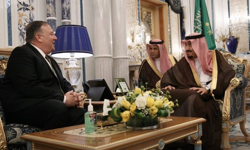 US, Saudi talk maritime security in the Gulf