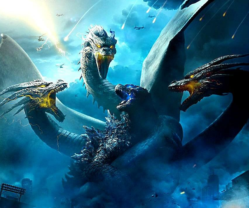 GODZILLA : KING OF THE MONSTERS!