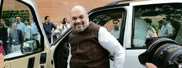 Shah arriving in Kashmir to review overall security situation