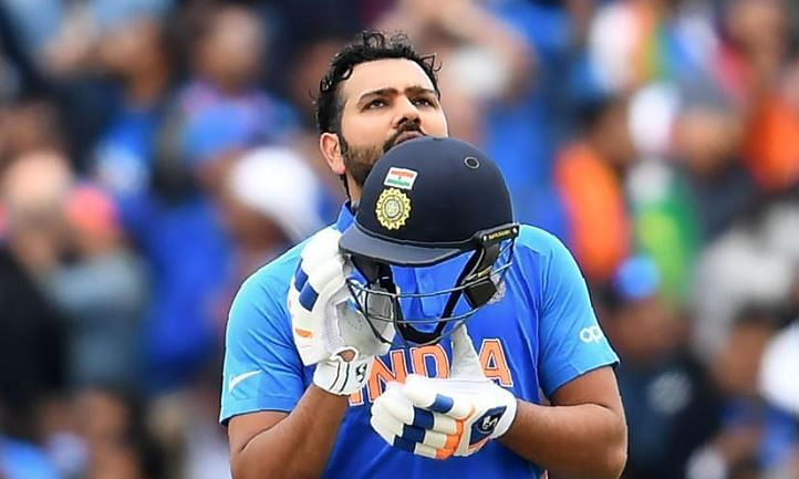 India lose Rohit Sharma
