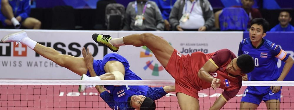 Thailand wins women's doubles titles at Asian Sepak Takraw Championship