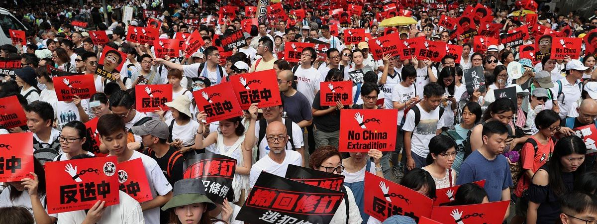 Protest intensifies against extradition bill in Hong Kong