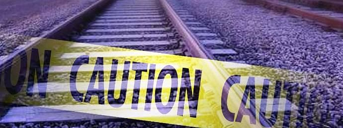 Woman killed as train hits her in AP
