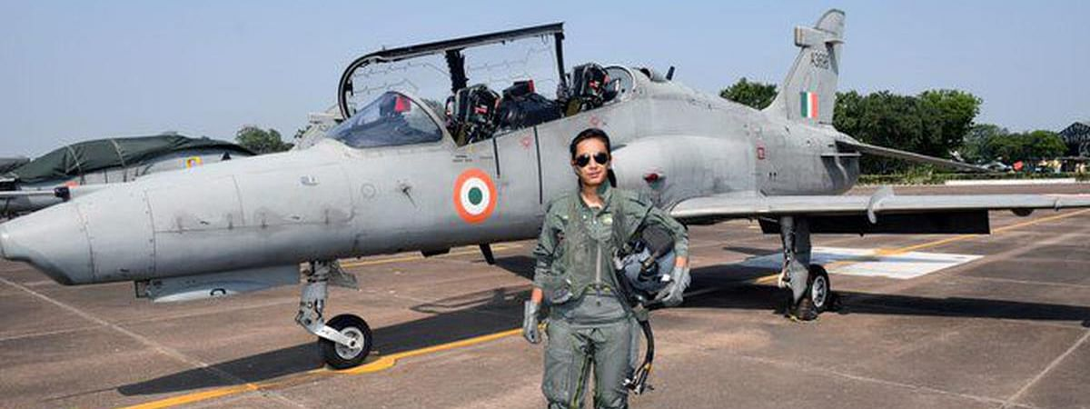 Mohana Singh becomes first woman fighter pilot