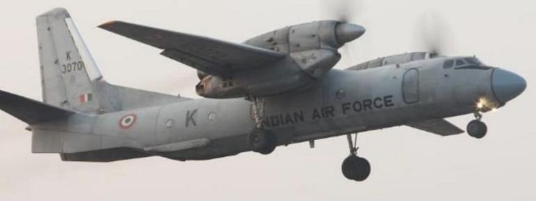 Search on for missing AN-32 transport aircraft