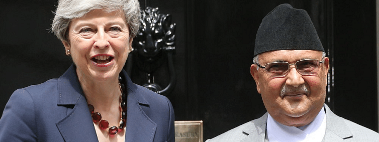 Oli proposes review of 1947 tripartite pact