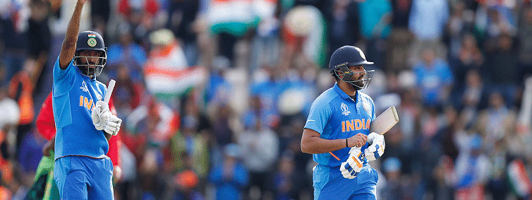 India beat South Africa by 6 wickets