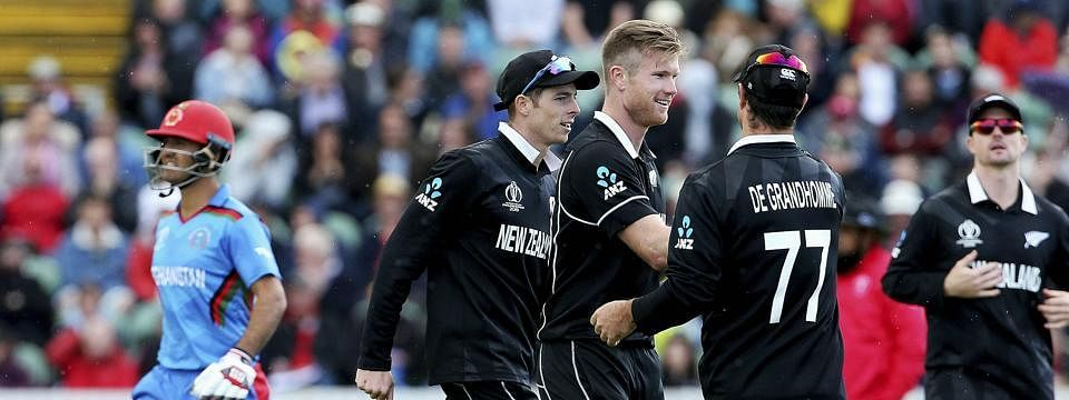 New Zealand beats Afghanistan by 7 wickets