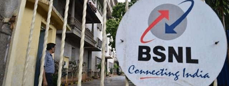 Market share of BSNL 10.72 per cent: Govt