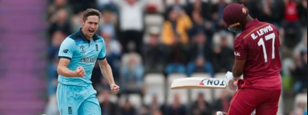 England win toss, opt to field against West Indies