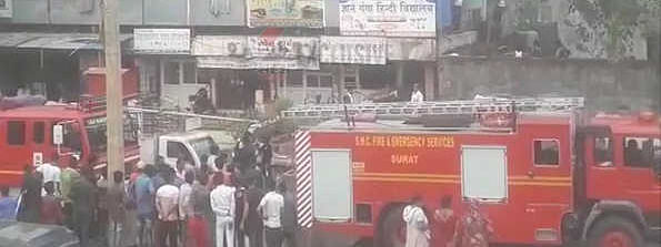 Around 150 students rescued from fire