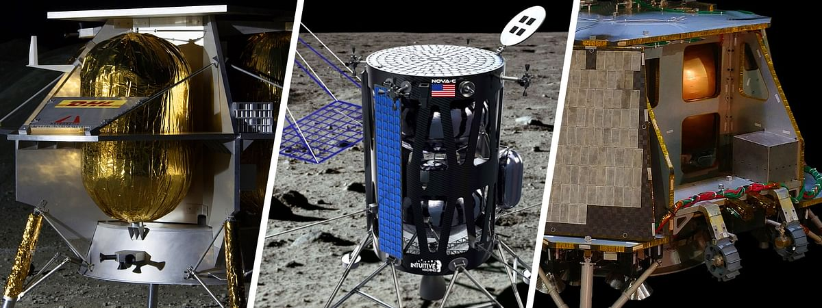NASA picks 3 private aerospace firms for lunar mission
