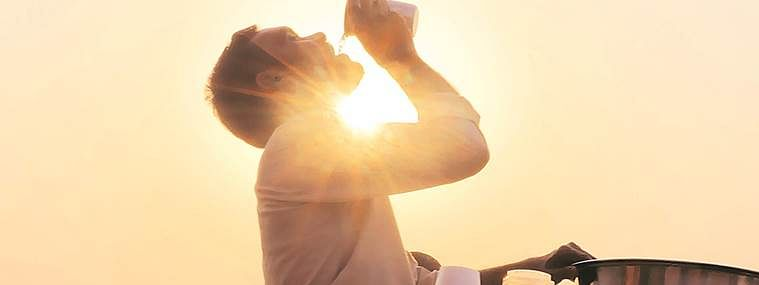 MP town sizzles at 46.8 degrees Celsius
