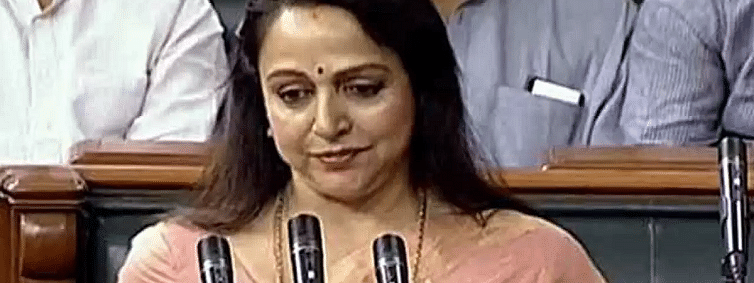 Lucky to be part of transformation process of New India: Hema Malini