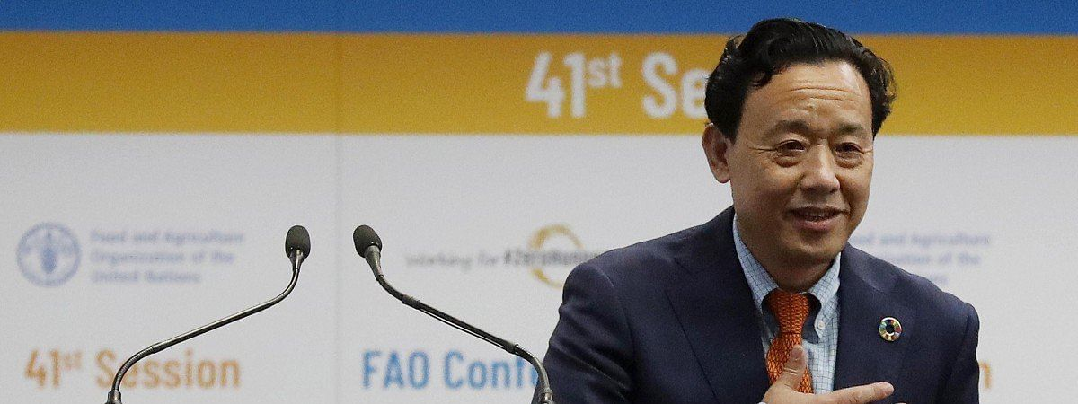 FAO elects Chinese minister as its head