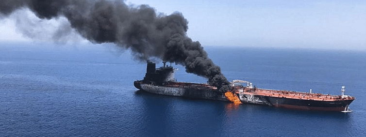 Saudi agrees with US claims against Iran on Gulf of Oman attacks