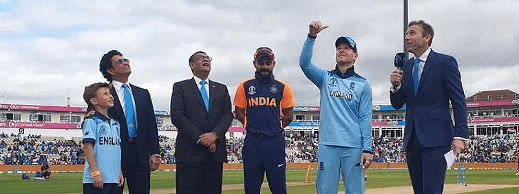 England win toss, opt to bat against India
