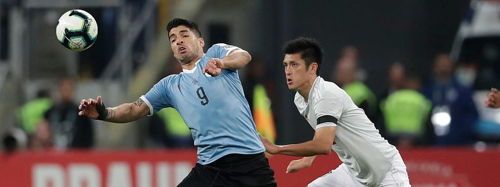 Japan, Uruguay play out 2-2 draw