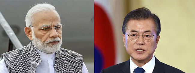 Modi interacts with Korean Prez over Twitter on Yoga, pledges to work together