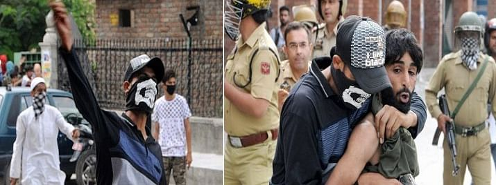 Police arrests 5 stone pelters in Srinagar