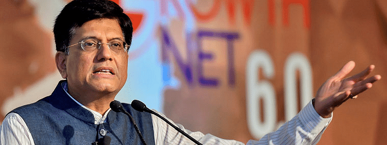 Piyush Goyal meets officials on domestic trade promotion