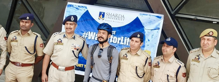 Sharda varsity launches #WaterForLife campaign