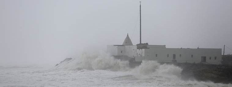Very rough sea condition forecast off Guj coast; fishermen advised to stay away