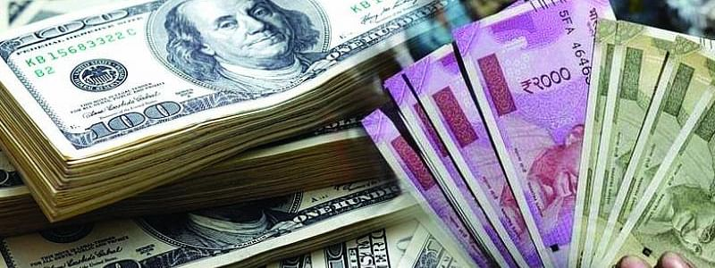 Rupee rises by 20 paise against USD