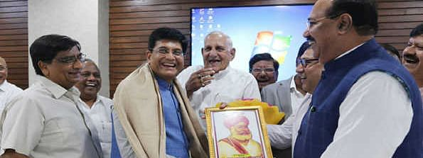 Goyal assures support to small traders and retailers