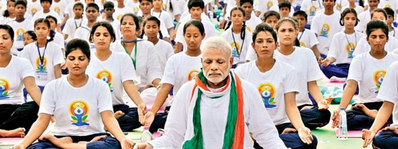 PM to lead 30,000 yoga enthusiasts at Ranchi on 5th IDY
