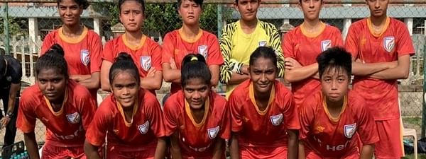 India women's play HK ahead of preparations for FIFA U-17 WC 2020