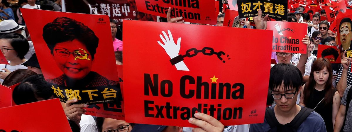 Scrap extradition bill, say protesters in HK