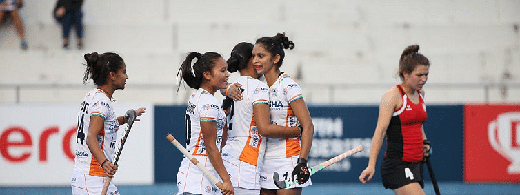 India beat Poland 5-0 in FIH Women's finals