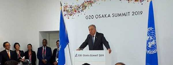 G20 Summit: UN Chief answers queries on Iran-US tensions