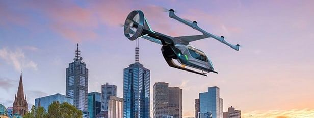 Uber takes its flying taxi service to Australia