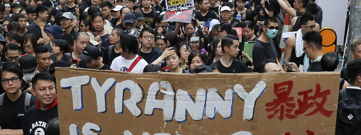 Protest against HK extradition bill continues