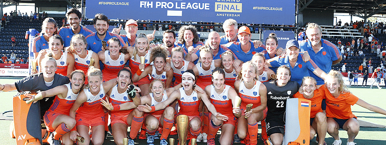The Netherlands crowned women's FIH Pro League champions