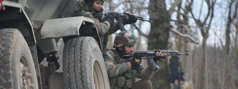 At least 9 soldiers injured in IED blast, militant firing