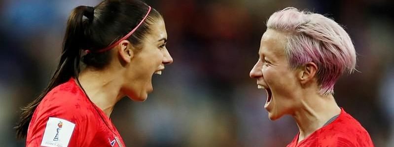 US beat Thailand 13-0 at Women's World Cup