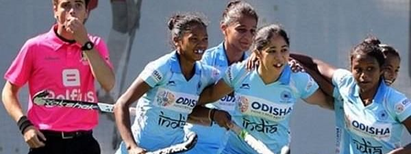 Indian Jr women's hockey team beat Ireland 2-1